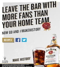 Jim Beam Sports Bar Campaign