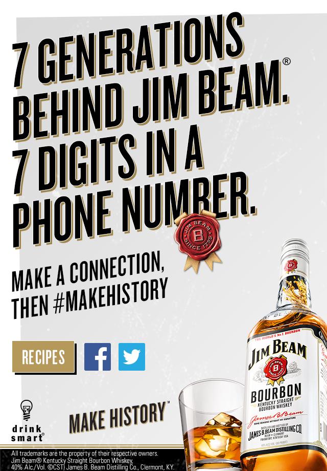 Jim Beam Foursquare Campaign