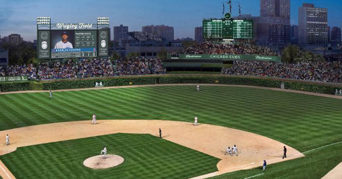 Wrigley Field, post-World Series